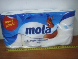 papier toaletowy Mola a`8