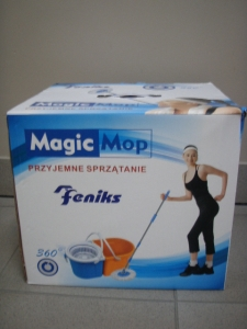 mop magic - dwa wiadra 360   TH1