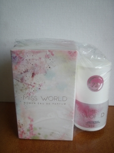 perfumy MISS WORLD 100ml. + ROLL ON 90010