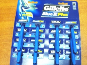 golarki Gillette Blue II Plus - 24szt.
