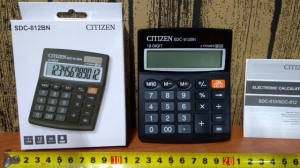 kalkulator citizen SDC-812BN