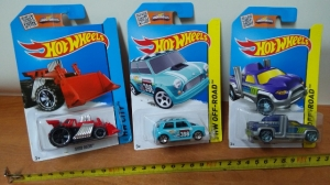 auto metalowe HOT WHEELS DNG93
