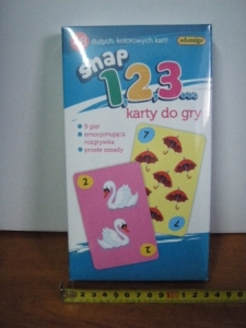 karty do gry - snap 1,2,3