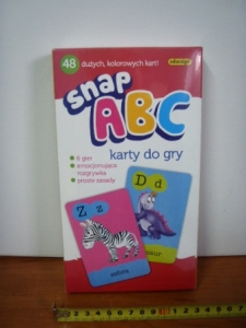 karty do gry snap A,B,C